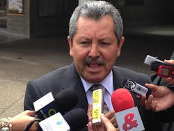 Former security chief Flavio Buitrago