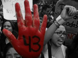 Protests against Guerreros Unidos attack on students