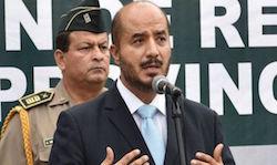 Interior Minister Jose Luis Perez Guadalupe
