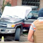 The scene of the double murder in Honduras
