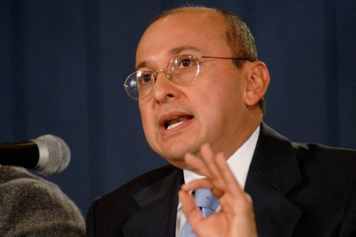 Colombia's Attorney General Eduardo Montealegre