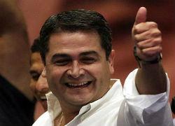 Honduran President Juan Orlando Hernandez
