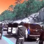 A narco-caravan in Mexico prepares for battle
