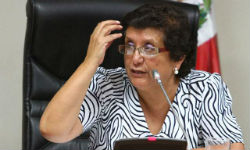 Peruvian congresswoman, Rosa Mavila