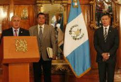 Juan de Dios Rodriguez (far right) was detained