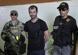 Brazilian drug trafficker Ezequiel de Souza