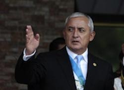 Guatemala's President Otto Perez Molina
