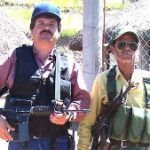 Joaquin 'El Chapo' Guzman (left) prepares for battle
