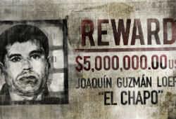 Chapo wanted poster
