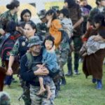 Children rescued from Shining Path