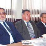 Alfredo Moreno Molina (center)