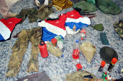 ACA and EPP clothes found together in Paraguay