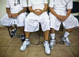 Gang members wearing Nike shoes