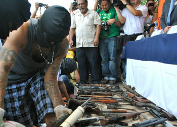 Gangs handed weapons in during truce