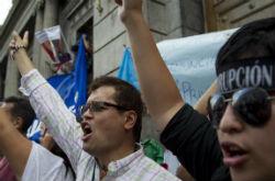 Guatemalan protesters