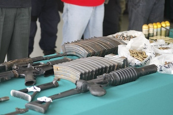 60% of confiscated weapons in Mexico are from three states