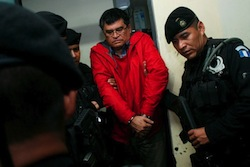 Mayor Edgar Medrano at the time of his arrest