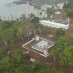 Aerial shot of Punta Coco prison