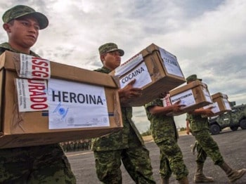 Mexican cartels' control of US drug market