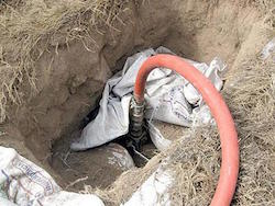 Illegal pipeline tapping in Mexico