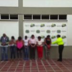 The suspected money launderers detained in Colombia