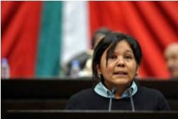 Murdered mayor Gisela Mota