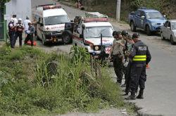Crime scene in Costa Rica