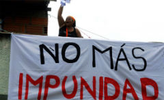 Less than 1% of crimes are punished in Mexico