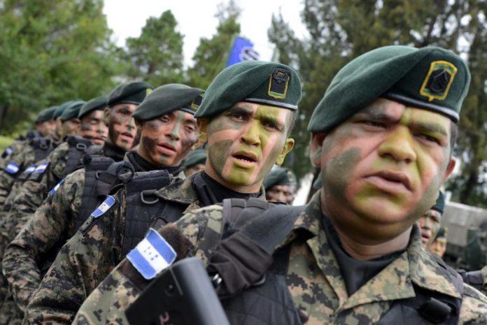Honduras' military police