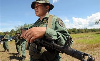 Venezuela's military are accused of profiting from illegal mining