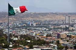Tijuana in Mexico's Baja California state