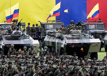 The Colombian military may take on a greater anti-crime function