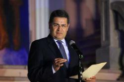 Honduras President Juan Orlando Hernández