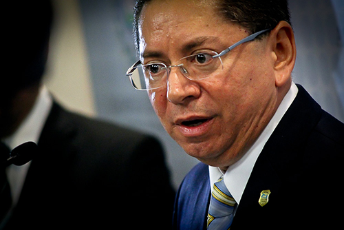 El Salvador Attorney General Douglas Meléndez. by Salvador Meléndez