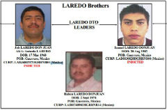 Alleged heroin traffickers the Laredo brothers