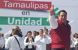 PRI candidate for governor of Tamaulipas state