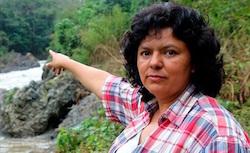 Berta Cáceres, a Honduras environmental defender murdered in March