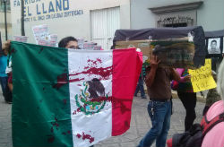 Anti-violence protesters in Mexico