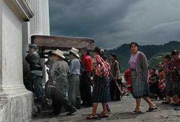 Funeral in Chichicastenango. by Dan Alder