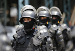 85,000 police and soldiers will be deployed in Rio during the Olympics