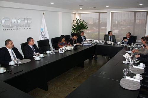 A meeting of CACIF in Guatemala