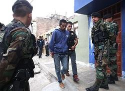A police operation in Callao