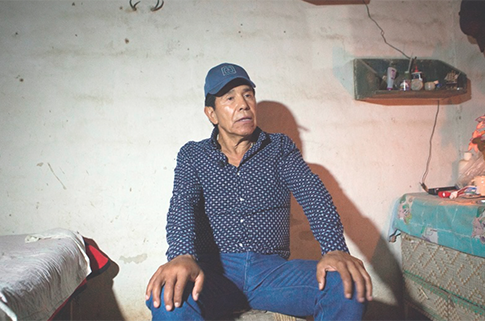 Rafael Caro Quintero in recent interview. by Miguel Dimayuga/Proceso