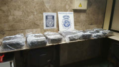 Suspect baggage seized by Spanish police