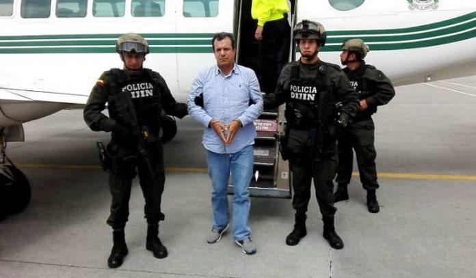 Arrested criminal boss