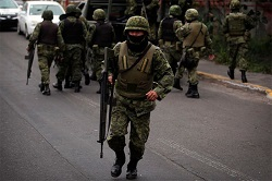 Mexican military during 'Operation Jalisco'
