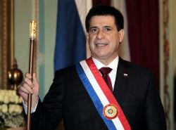 Paraguay President Horacio Cortes