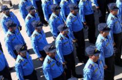 Honduras police officers