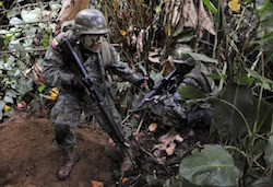 Ecuador looks to cut its security presence along the Colombia border