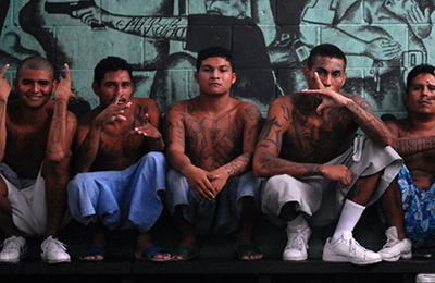 Members of a Central American gang. c/o Brookings Institution